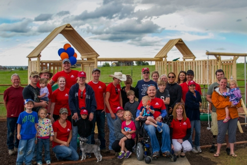 Take Point Gives Back To A Family Who Have Sacrificed So Much